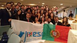 ESN Portugal delegation at AGM Germany 2017
