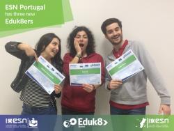 New Eduk8ers from ESN Portugal